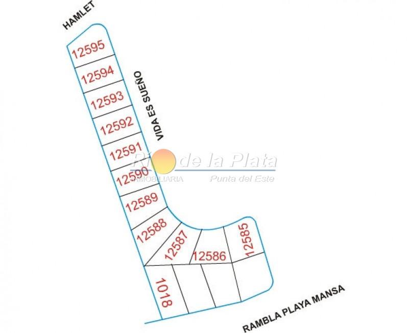 Terreno en Pinares. Punta For Sale 1344689